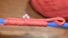 Awesome DIY Yarn Flower with Pearls and Straw Hack - Sewing Hack - Easy ...