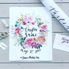 390 vind-ik-leuks, 3 reacties - Sara Atiyat (@journeyofapen) op Instagram: 'Sent this custom wedding sign off to a sweet client! It was large so I had to ship it in a…'