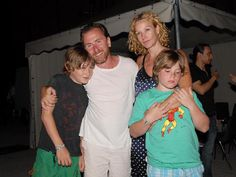 Tim Roth & Family Attend Italian Film Festival
