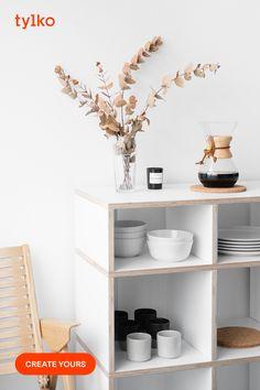 Kitchen Shelves, Kitchen Decor, Open Shelves, Storage Shelves, Kitchen Shelf Inspiration, Küchen Design, House Design, My New Room, New Furniture