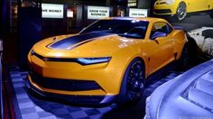 Transformers Bumblebee Camaro concept