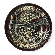 A Birger Kaipiainen stoneware dish, Arabia, Finland. Ceramic Plates, Ceramic Art, Swedish Style, Nordic Design, Vintage Pottery, Clay Art, Textile Design, Graphic Illustration, Finland
