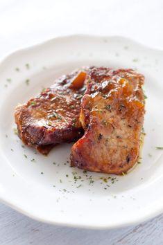 Paleo Crockpot Recipes, Pork Chop Recipes, Slow Cooker Recipes, Cooking Recipes, Healthy Recipes, Crockpot Meals, Paleo Meals, Gf Recipes, Paleo Diet