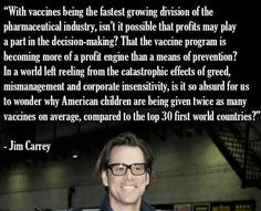 JIM CARREY on Vaccines