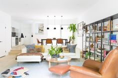 Articles about collection/living room on Apartment Therapy, a lifestyle and interior design community with tips and expert advice on creating happy, healthy homes for everyone. Lounge Design, Small Living Rooms, Living Room Decor, Living Spaces, Home Stuck, Living Room Accessories, Living Room Remodel, Interiores Design, Decoration