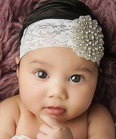 Look at this The Tiny Blessings Boutique White Starburst Rhinestone Lace Headband on today! Lace Headbands, Baby Girl Headbands, Vintage Headbands, Girls Boutique, Baby Boutique, Beautiful Children, Beautiful Babies, Gorgeous Girl, My Baby Girl