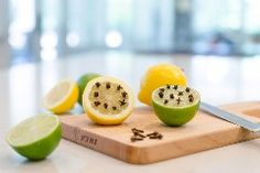 1. Drive away mosquitoes with whole cloves in lemons and limes.The smells of citrus and clove may be appealing to us, but mosquitoes despise it and stay away. Place lemon and lime halves with cloves …