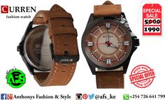 How About You Put Your Hands In This ⌚ Curren Watches offer clean style and functionality in a variety of finishes and colors. Leather Strap, Dated, Water Resistant.  60% Discount.  _ Location :CBD Moi Ave Street. Delivery Countywide.