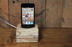 iPod docking station by Jessie Hirt of The Woodlot $65 #starpicks #OOAKX11  #Meetourstars