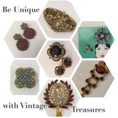 Stunning Vintage Jewels #teamlove #vjsegroup #vintagejewelry #vintagetreasures