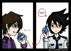 Phone Guy and Purple Guy by CreamCh0c0late on DeviantArt