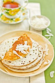 Sips and Spoonfuls: Vibibis- Rice and Coconut Pancakes