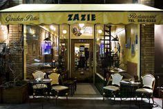 Visita al restaurante Zazie - http://www.absolutroma.com/5448-2/