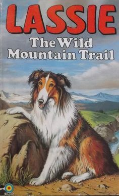 Lassie - The Wild Mountain Trail Book Rough Collie, Collie Dog, Mountain Trails, Old Comics, Tv Guide, Dog Names, Dog Training, Childrens Books, Puppies