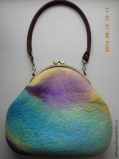 """Сумочка """"Радужное настроение"""" - абстрактный,радужный,яркая сумка,позитивная"""