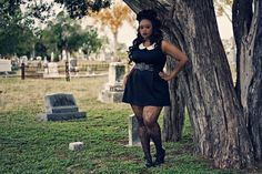 umbrella black lace tights mask goth fashion photography gothic Fall Fashion Parasol cemetery plus size model graveyard body positive body acceptance dark fashion gothic fashion floral crown autumn fashion plus model bbbg tombstones Black goth bbbw toya tenice babeofficial goth of color