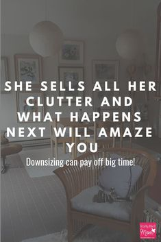 If you'd like tips on how to sell your clutter for extra money as you declutter, this article is for you! #decluttering #tips