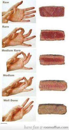 Steak consistency
