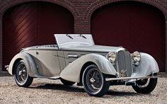 1930 ALFA ROMEO 6C 1750 GS SPIDER - by Carrozzeria Castagna of Milan.