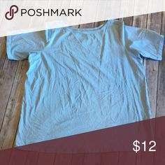 Roaman's Basic Blue Tee size 18/20 Basic blue t shirt from Roaman's NWOT. Size 18/20 Roaman's Tops Blouses