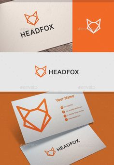 Fox Logo — EPS Template #foxy #strong • Download ➝ https://graphicriver.net/item/fox-logo/18396828?ref=pxcr