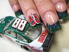 A Fish with a Bicycle: Nascar Nails