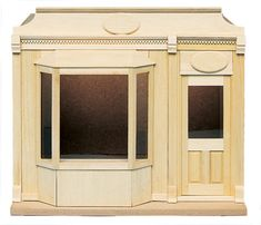 Street of Shops Collection - Bay Window Shop   Mary's Dollhouse Miniatures