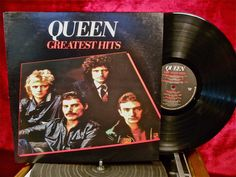 QUEEN - Greatest Hits - 1981 Vintage Vinyl Record Album