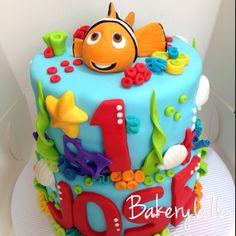 Pastel de nemo / nemo cupcake Bakery 676