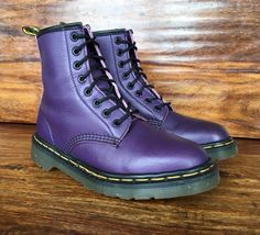 Dr. Martens Flora Boots in Cherry Red Arcadia size Depop