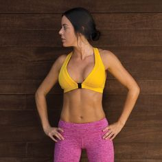 6a8e62d3a9 The Open Your Heart Front Closure Sports Bra is designed to be removed with  ease and perfect for Yoga