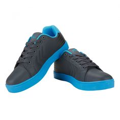 Dark Grey Lake Blue Men Casual Shoes - Casual shoes are known for their fun, contemporary design, combined with rugged durability. Easy to wear this shoes consists fashion and comfort with an extraordinary unique range of design and colors. This sneaker will be an excellent pick to be worn with casual outfits, featuring a PU upper and fabric inner.