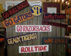 SEC football....the reason for fall>>> Can I hear an Amen?   ;)