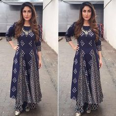 Kareena Kapoor In Anushree label outfit