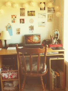 Desk space *mine* Sony Vaio laptop iHome Common Sense Cookery Book Cannon EOS 1100D DSLR Camera Typo lanterns ($20) Ralph Lauren Cushion