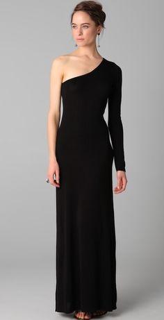 Black Degrade Silk Georgette Dress by Elie Saab for Preorder on ...