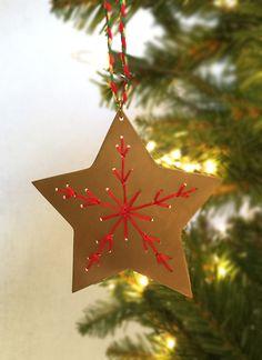 Brass Star Ornament