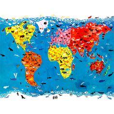 Buy Christopher Corr - Animal World, Frameless, 50 x 40cm Online at johnlewis.com
