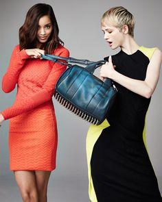 Alexander Wang Rocco Heat-Sensitive Color-Changing Stud-Bottom Satchel Duffel Bag, Poseidon/Galaxy Blue