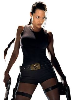 Angelina Jolie makes a kick-ass Tomb Raider, and now Alicia Vikander reprises the role. Who could  be in their shoes? Lara Croft Angelina Jolie, Tomb Raider Angelina Jolie, Angelina Joulie, Portrait Studio, Tomb Raider Lara Croft, Tomb Raider 3, Halloween Disfraces, Celebs, Celebrities
