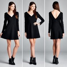 D5384 Semi-fitted long sleeves scoop V-neck skater dress. Has scoop V-back. Center front and back seam on torso. This dress is made with medium weight crepe scuba-like knit fabric that is soft drapes well and has great stretch.  #cherishusa #cherishapparel #shopcherish #fallfashion #fashionbuyer #boutique #fashion #fashiondiaries #instafashion #instastyle #fashionstyle #ootd #fashionable #fashiongram #fallstyle #clothingbrand #fall2015 #fallfashion #dress #skaterdress #vneck #crepescuba…