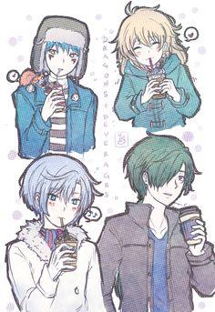 Akatsuki no Yona / Yona of the dawn anime and manga || Dragon warriors modern AU alternate universe Jaeha, Kija, Zeno, shin ah and Ao