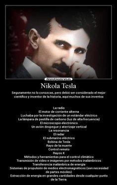 Los grandes genios tienen la capacidad de avanzarse en el tiempo y visualizar el mundo futuro con gran antelación. y Nikola Tesla, sin duda, ha sido uno de ellos.