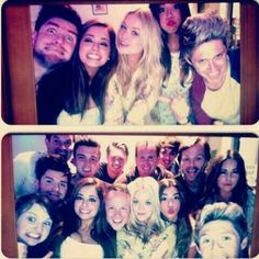 Niall with friends in London tonight #2.