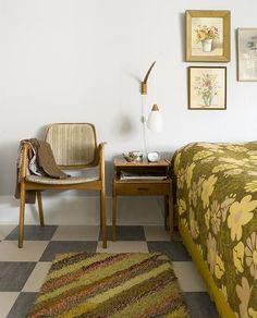 retro bedroom goodness