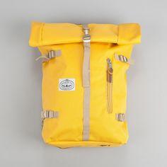 Poler Zilla Rolltop Backpack - Mustard | Flatspot
