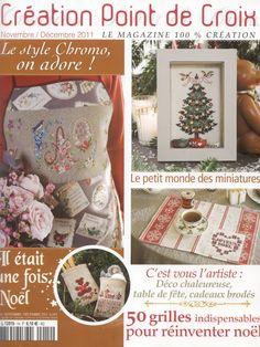 Creation de Point de Croix No. 14 - Nov. / Dec. 2011