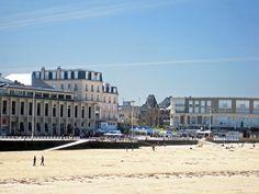 #Casino of #Dinard #seaside #resort in #Brittany #France facing #PlageDeL'Ecluse #beach