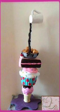 My gravity defying birthday cake! By Emmazing Cakes