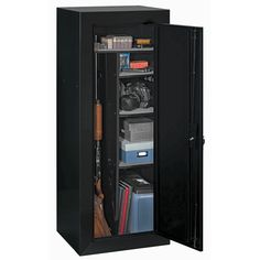 Stack-On 14-Gun Security Cabinet with Free Pistol Box - Gander Mountain
